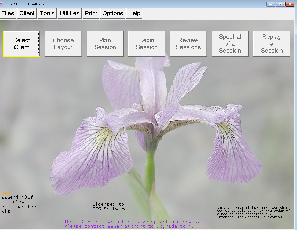 Iris screen